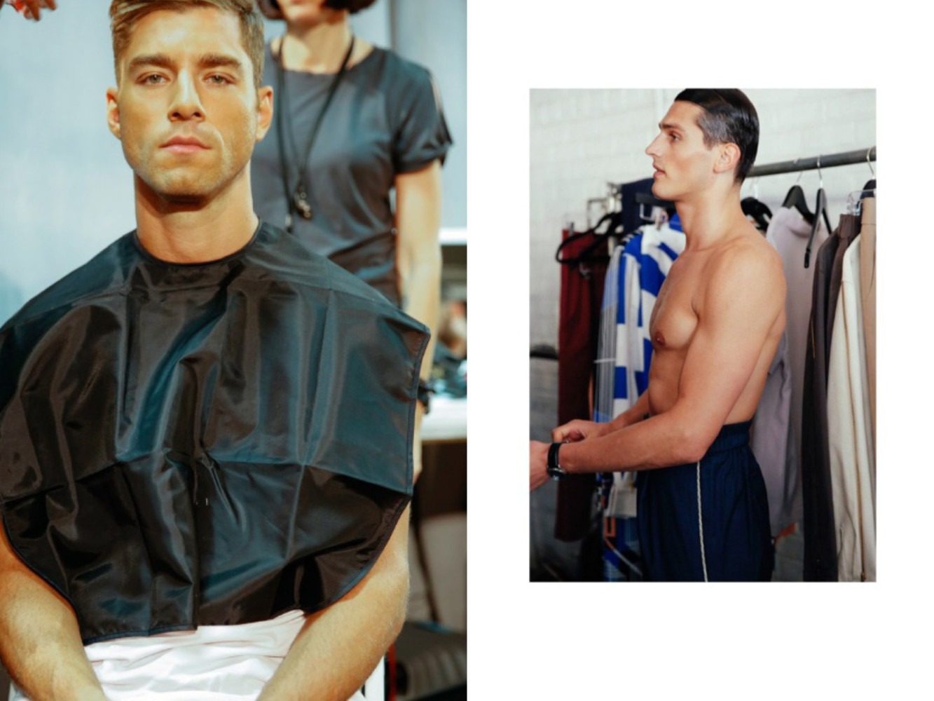 NYFW-behind-the-scenes-male-models-top-5-male-beauty-products-leading-London-modelling-agency-IMM