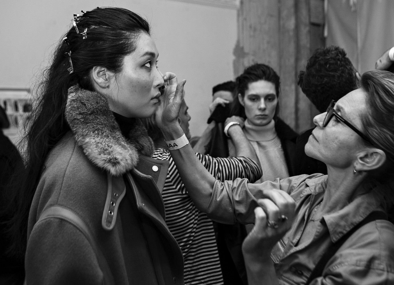 backstage-models-Belstaff-FW16-How-to-contour-now-top-London-modelling-agency-IMM