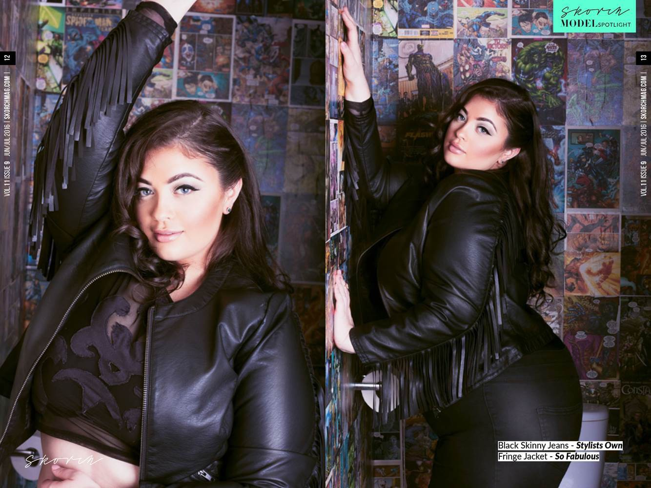 Curve-fashion-model-Chanelle-Skorch-magazine-editorial-top-London-modelling-agency-IMM
