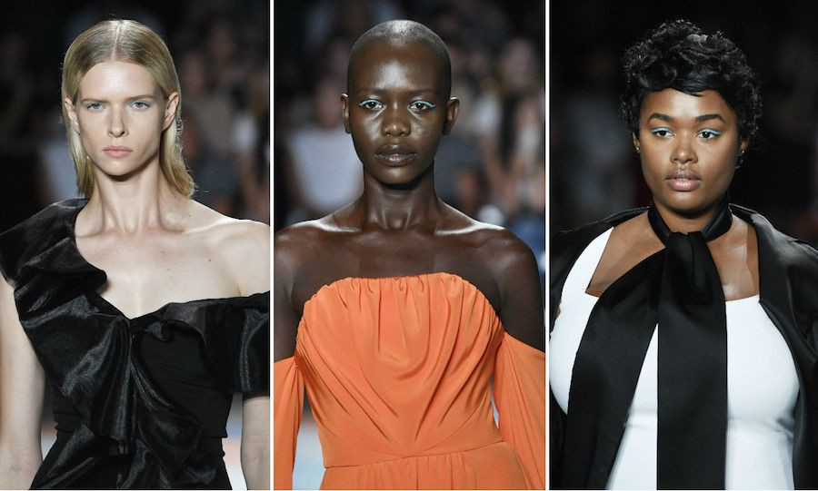 Christian-Siriano-NYFW-fashion-show-curve-models-top-London-modelling-agency-IMM