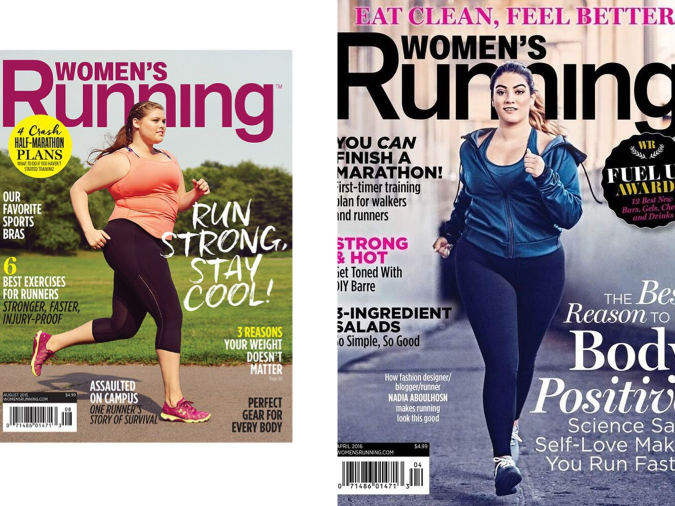 plus-size-models-Women's-running-magazine-cover-facts-on-plus-size-modelling