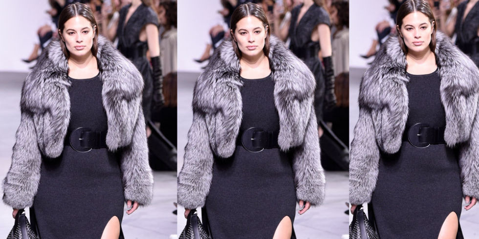 plus-size-model-Ashley-Graham-Michael-Kors-New-York-Fashion-Week-fall-17