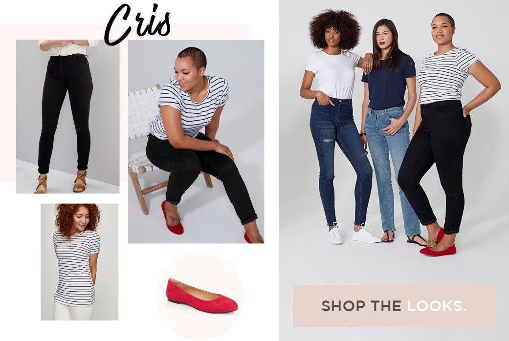Curve-fashion-model-Cris-Long-tall-sally-denim-campaign