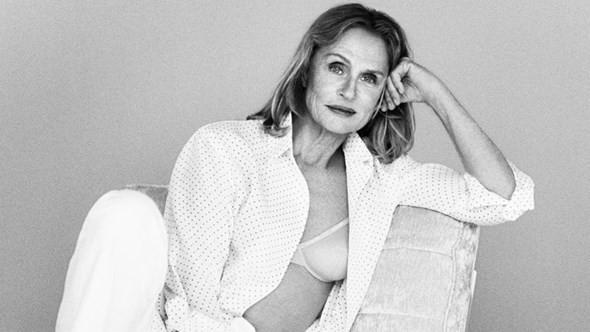 Supermodel-Lauren-Hutton-Calvin-Klein-campaign