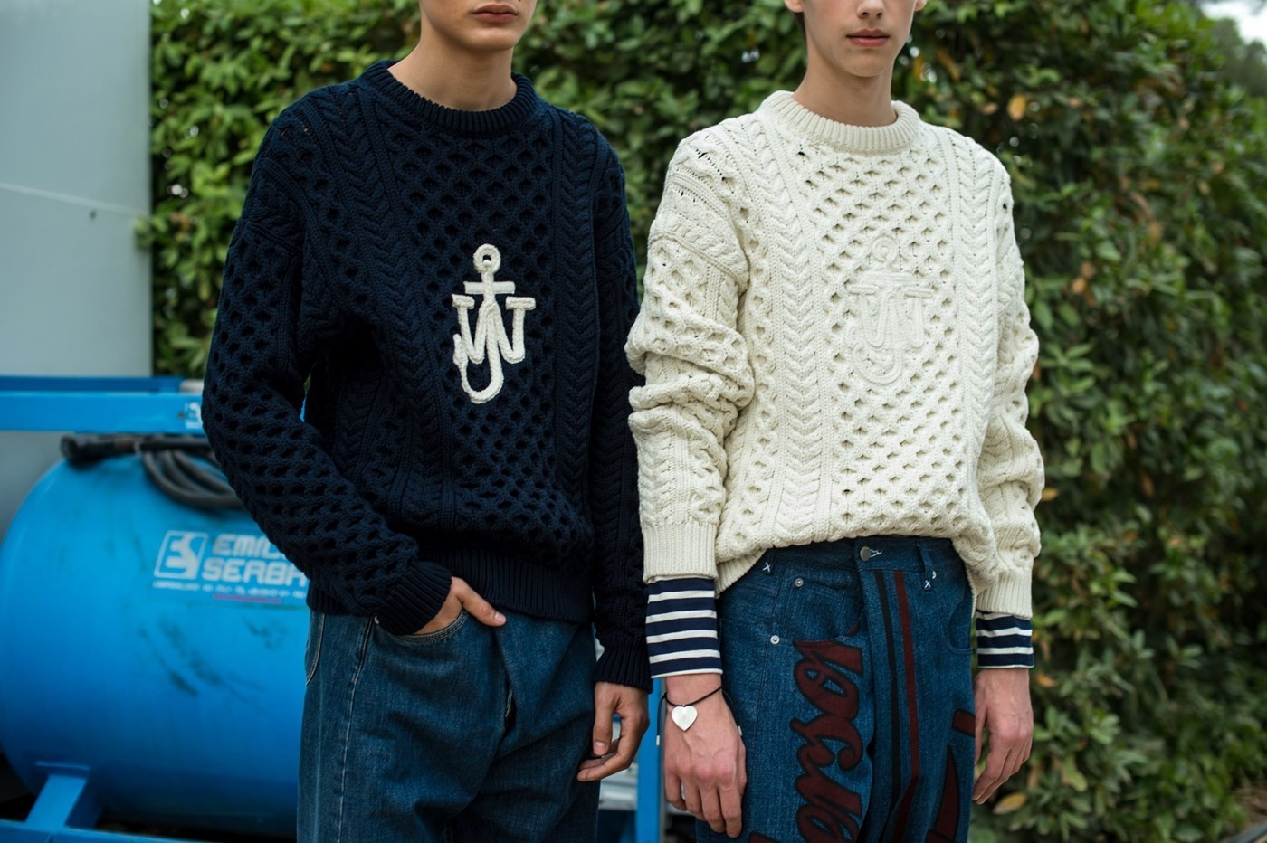 SS18-mens-fashion-week-JW-Anderson-top-London-modelling-agency-IMM