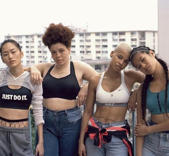 Plus-size-model-Odile-Nike-women-sportswear-campaign