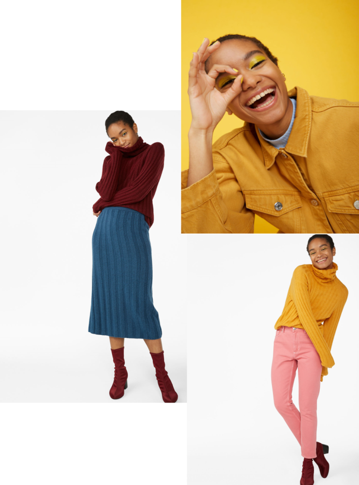 monki yellow jacket
