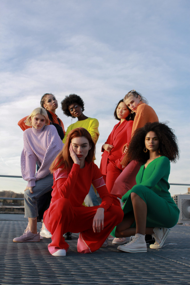 #Models, #Emily L, #Bell, #Persia, #Abbie G, #Emily S, #Tosin, #Naran