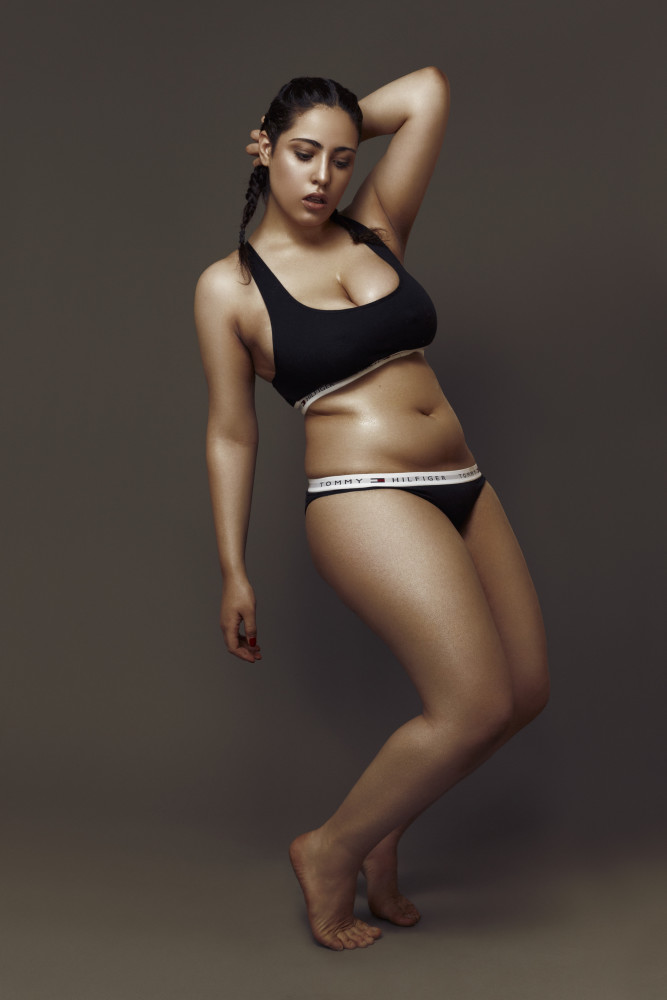 Female-curve-model-Esther-I-am-all-women-project-Top-London-modelling-agency-IMM