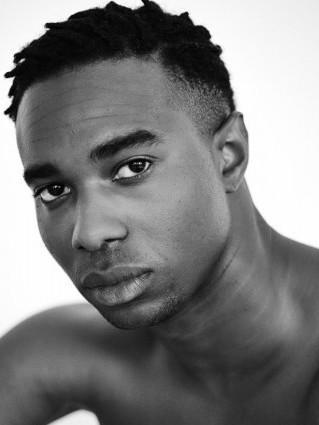 black male model profile