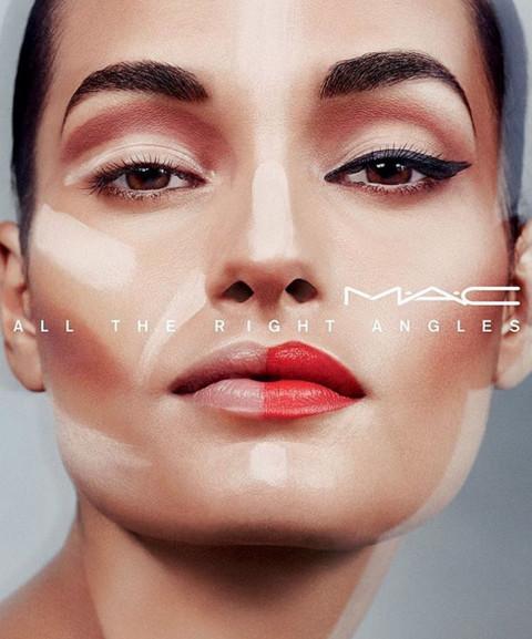 gizele oliveira for mac cosmetics line up model management
