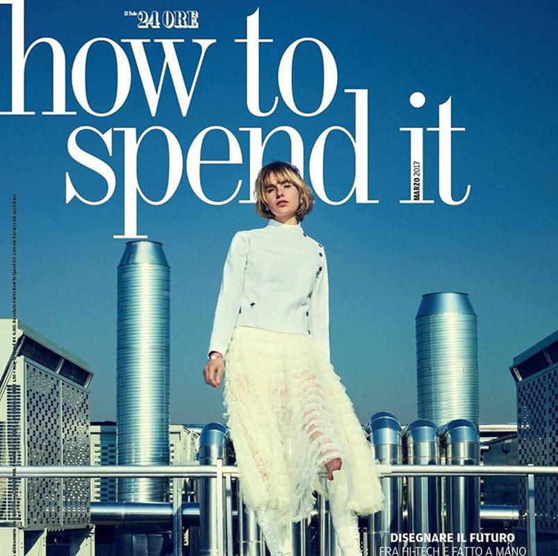 Steffi Cook for How To Spend It  Magazine by Max Cardelli