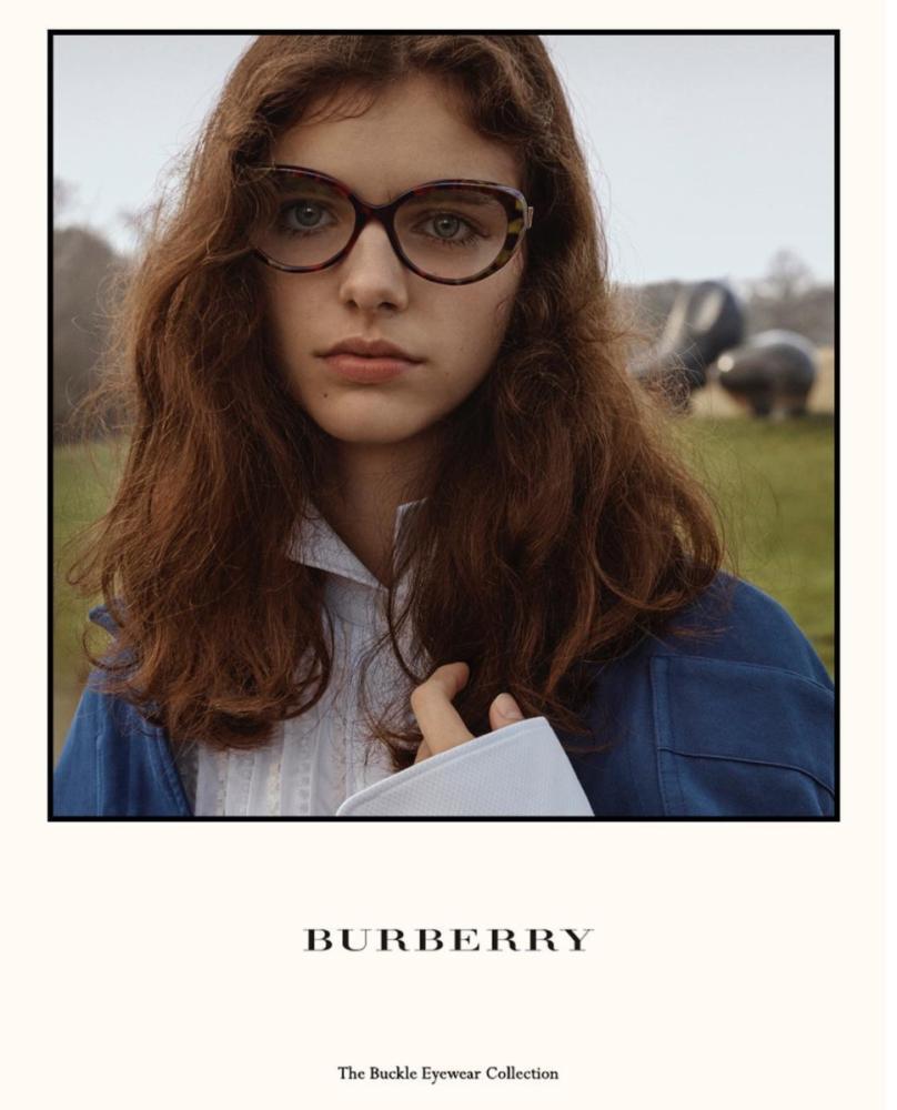 MAYA GUNN for Burberry eyewear