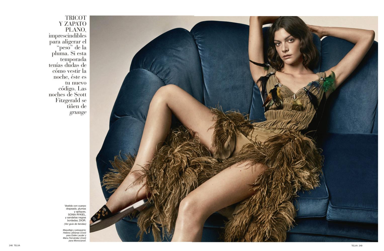 MARTA ORTIZ for Telva Magazine by Jonathan Segade