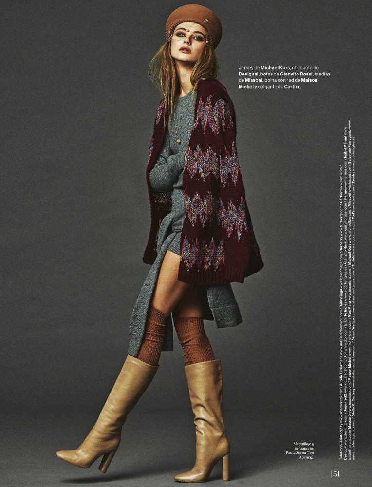 ALEXANDRA TIKERPUU for Mujer de hoy by Anton Goiri