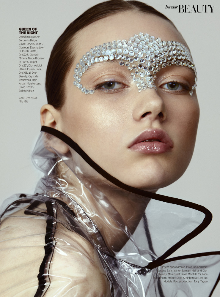 SOFIA STEINBERG for Harper´s Bazaar Arabia by Lidia Estepa