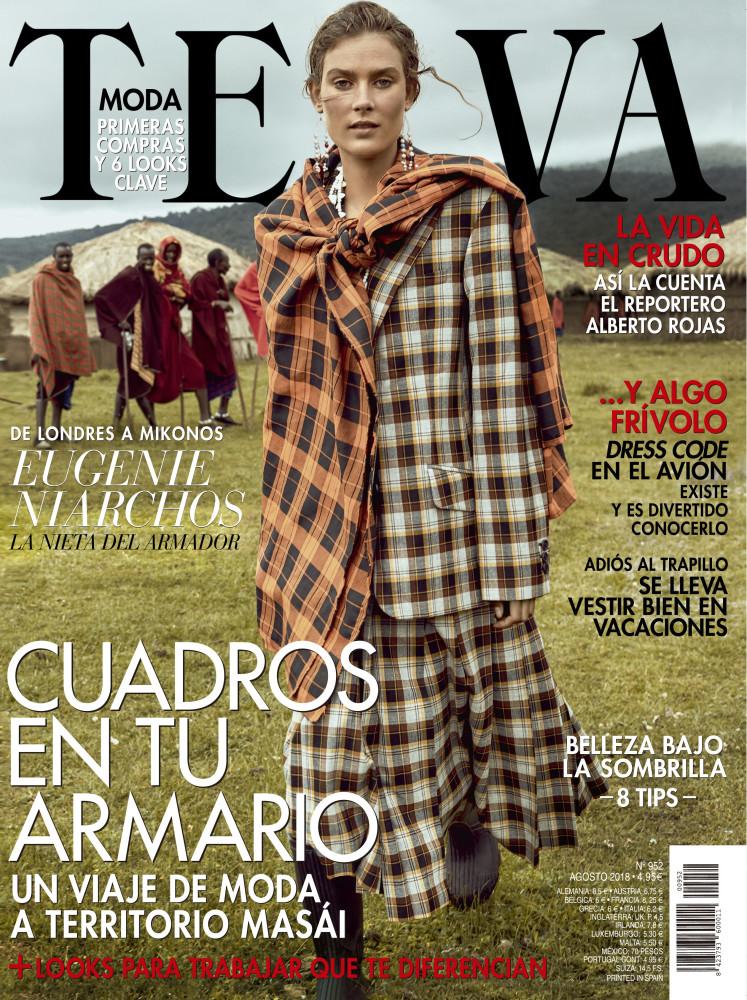 VERA VAN ERP for Telva Magazine by Tomas de la Fuente