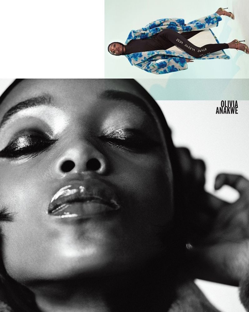 OLIVIA ANAKWE for Vogue Korea by Huea W. Kang