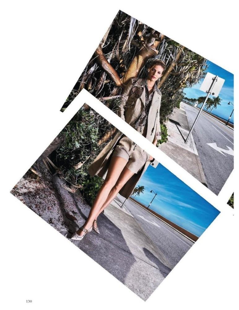 ALISA AHMANN for Harper´s Bazaar Germany by Steve Hiett