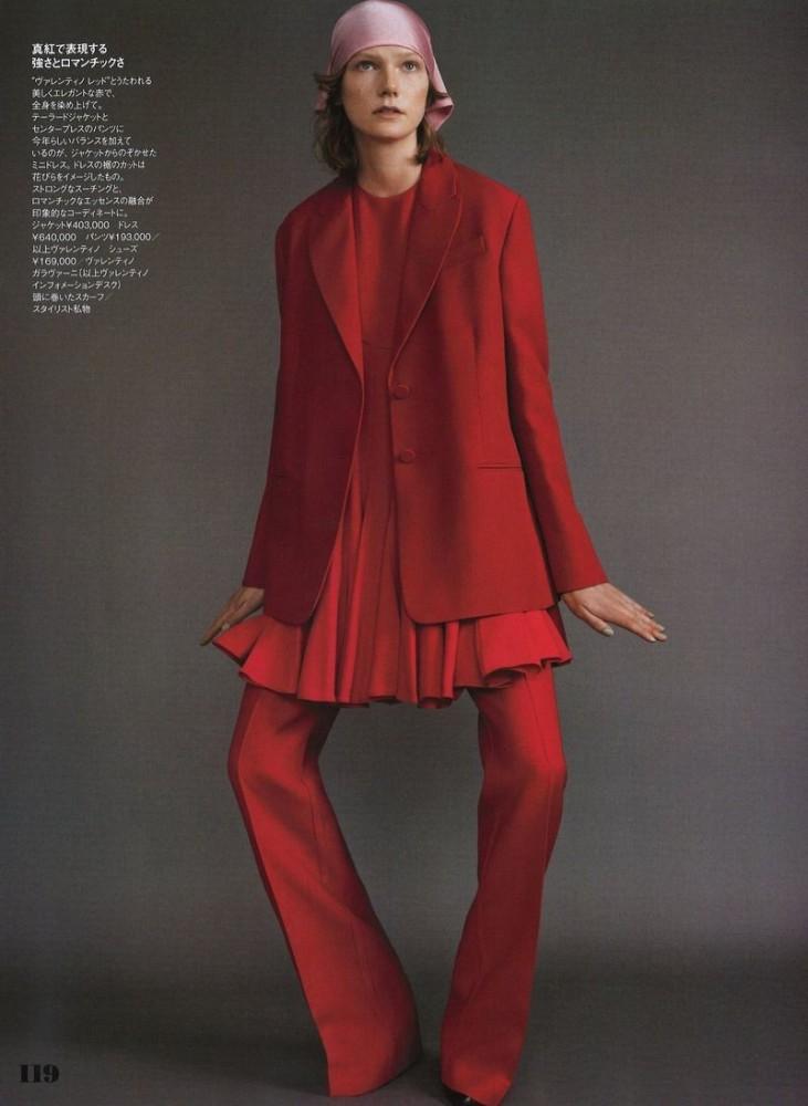 MARLAND BACKUS by Elle Japan by Masami Naruo