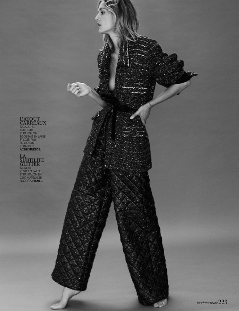 NADJA BENDER for Madame Figaro by David Roemer