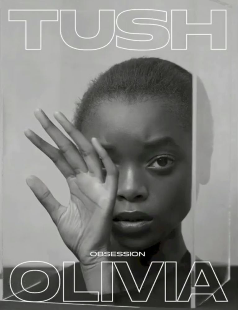 OLIVIA ANAKWE for Tush magazine by Marcus Schaefer