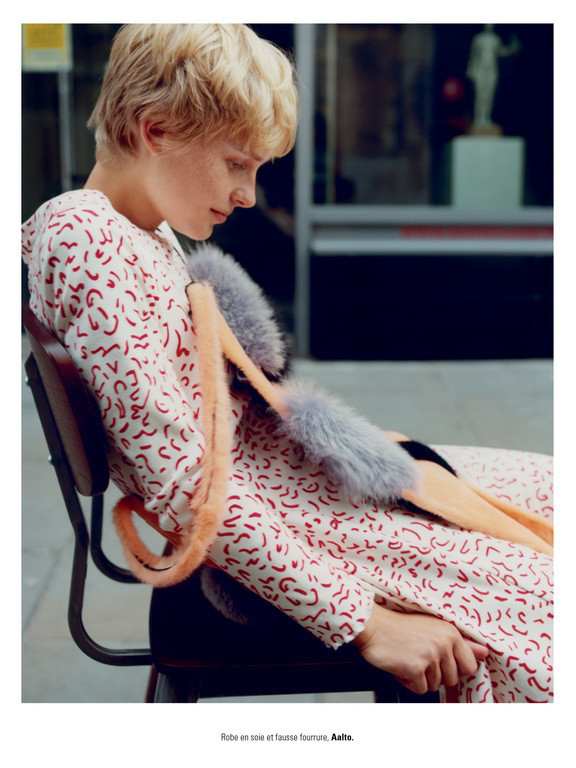 STEFFI COOK by Jalouse magazine by Marc Hibbert