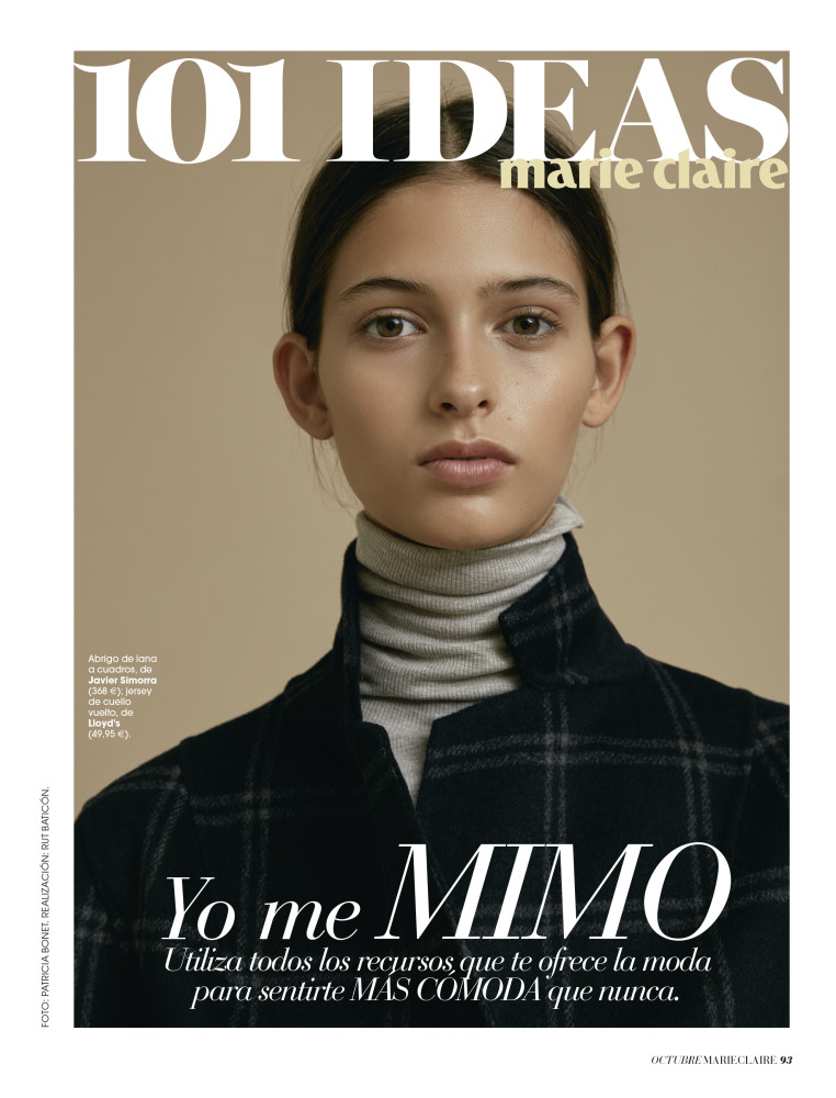 ANA G for Marie Claire by Patricia Bonet