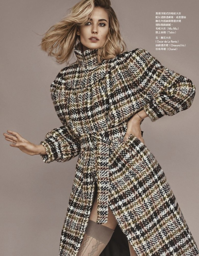 NADJA BENDER for Vogue Taiwan by Caleb & Gladys