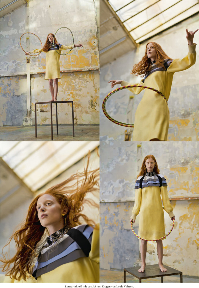 LAURA ROTH for Weltwoche magazine (Louis Vuitton Special) by Edgar Berg