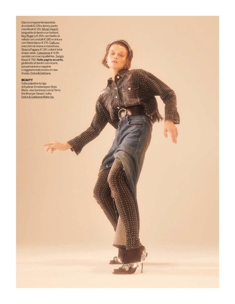 ELINA V for Gioia magazine by Marcello Arena