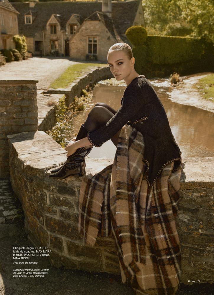 NIMUE SMIT for Telva Magazine by Jonathan Segade