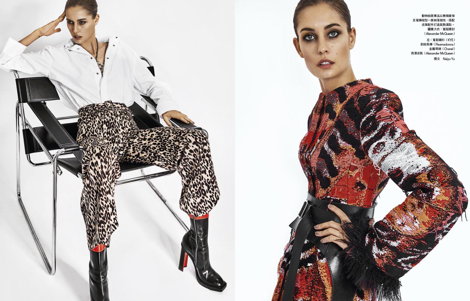 NADJA BENDER for Vogue Taiwan by Caleb & Gladys