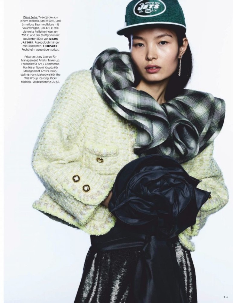 LING LIU for Vogue Germany by Ben Hasset