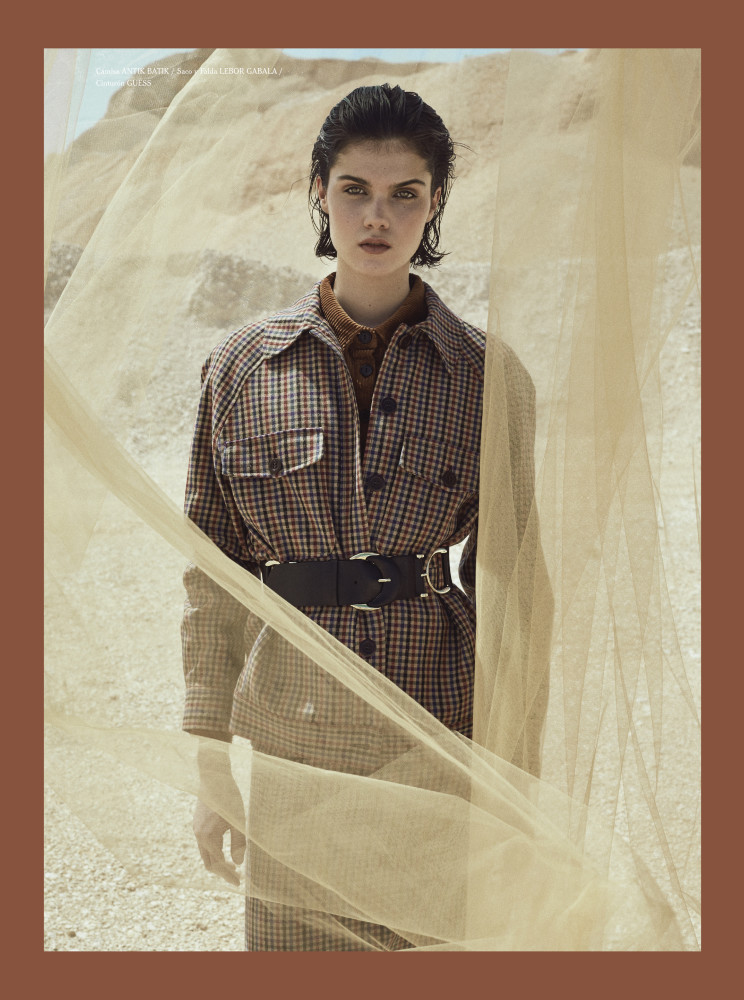 MARIA PARR for Haunted magazine by Chesco López