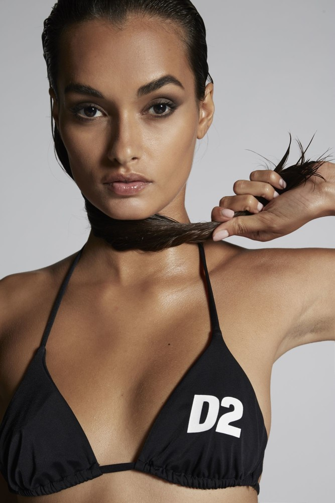 GIZELE OLIVEIRA for swimwear look book Dsquared2