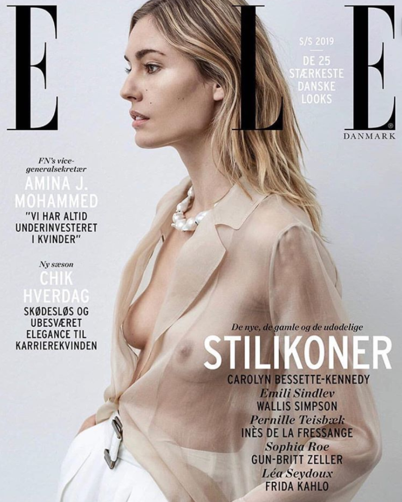 NADJA BENDER for Elle Denmark by Marco Van Rijt