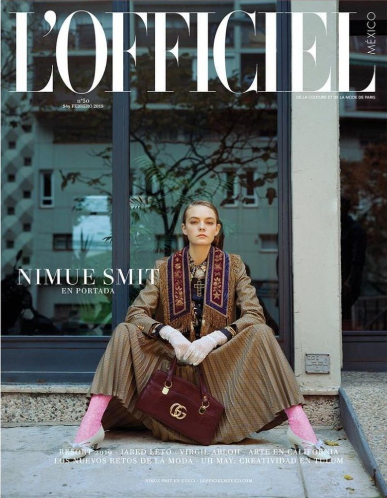 NIMUE SMIT for L´officiel Mexico by Edu García