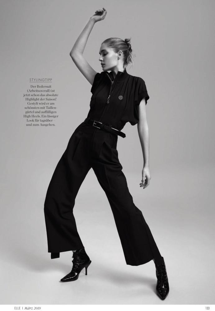 NADJA BENDER for Elle Germany by Andreas Ortner