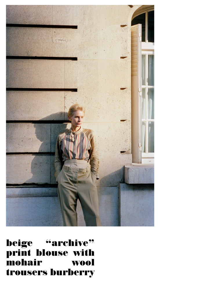 STEFFI COOK for Purple magazine by Ola Rindal