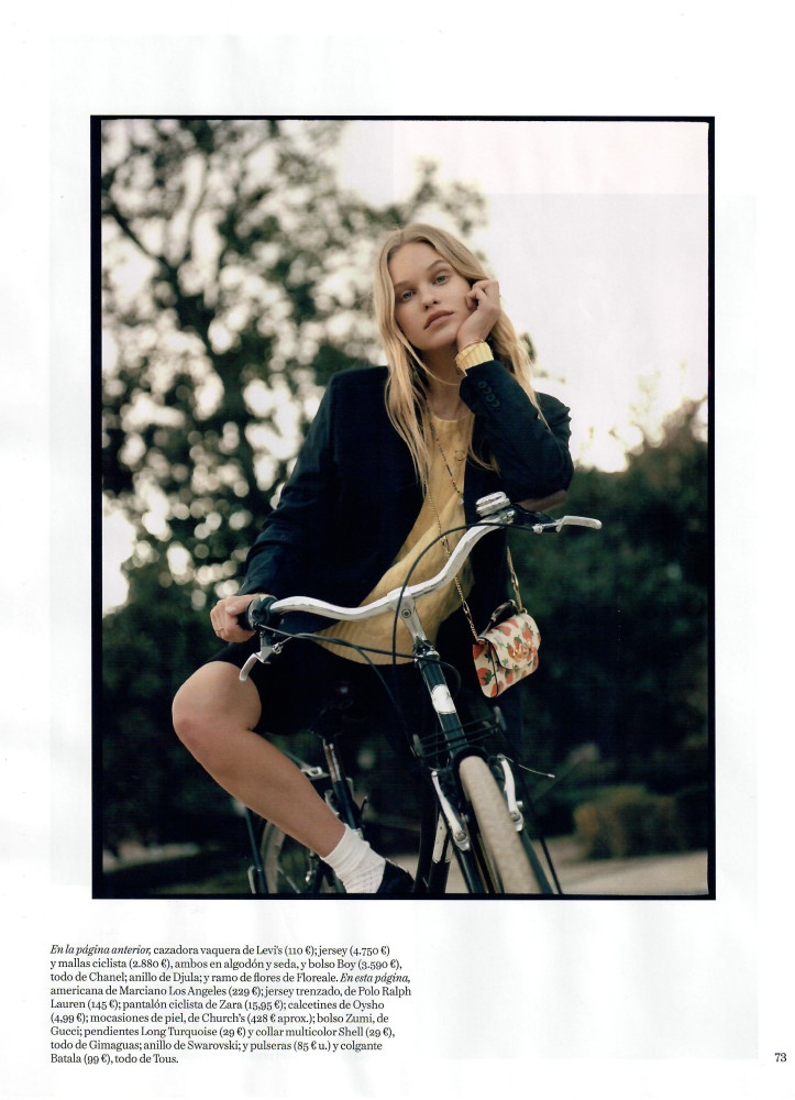 LOTTA for Vogue Spain by Anya Holdstock