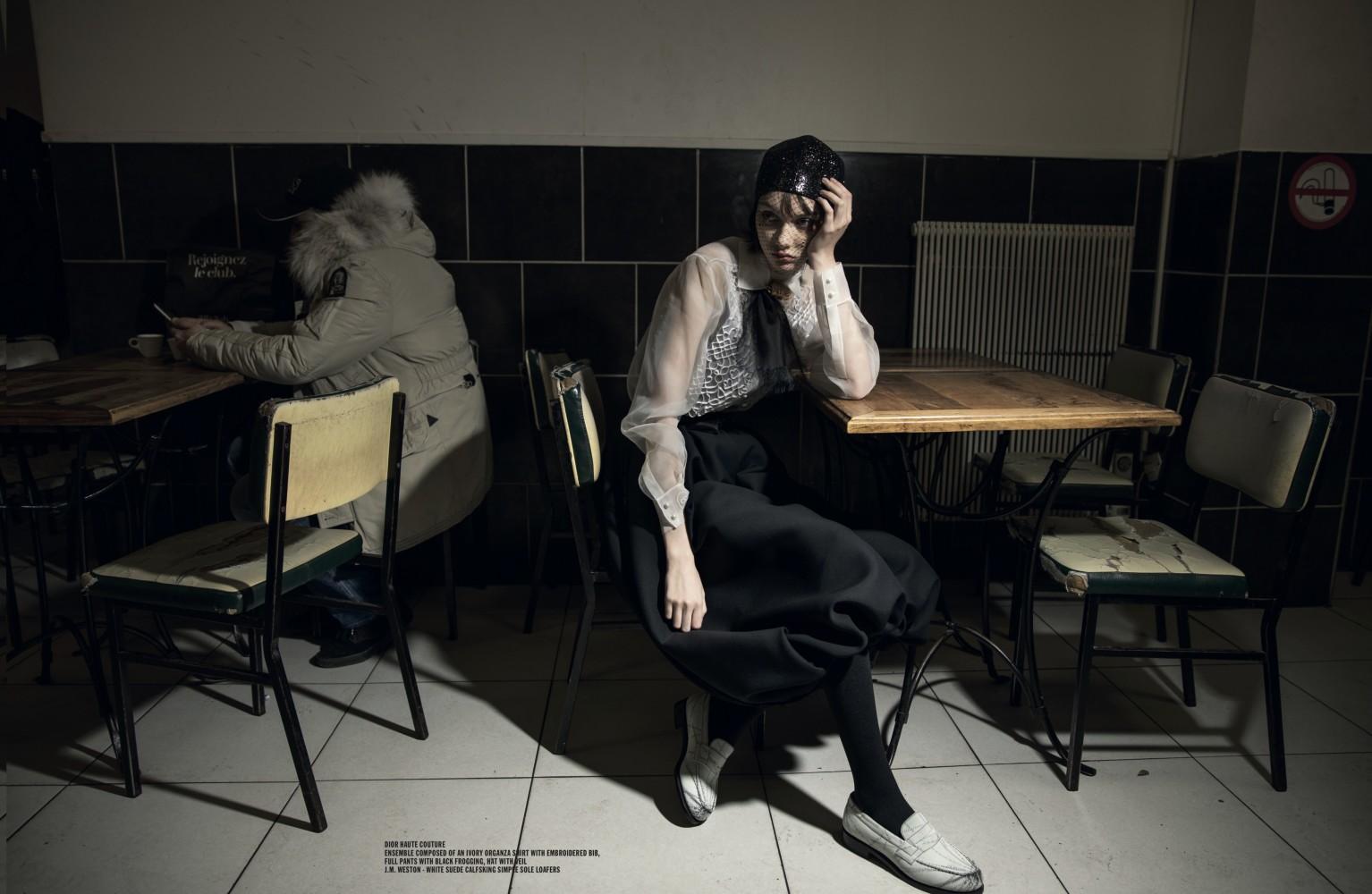 SOFIA STEINBERG for Crash magazine by Jerome Sessini