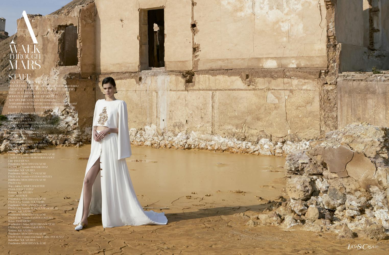 MARIA PARR for Lucia se casa magazine by Antonio Cordero