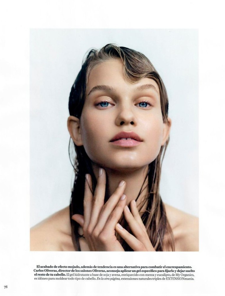 LOTTA for Vogue Spain Beauty by Anya Holdstock