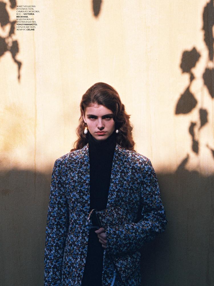 MAYA GUNN for Vogue Ukraine by Kennedy magazine