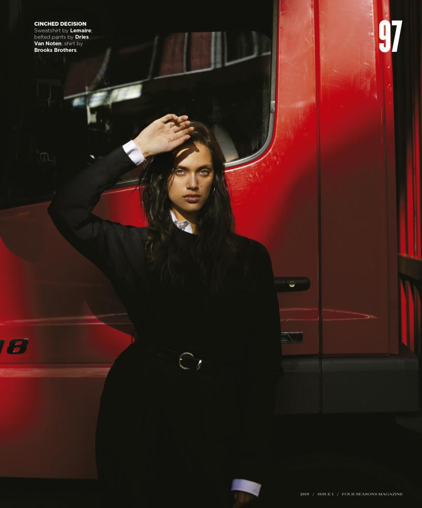 DALIANAH for Four seasons magazine by Gorka Postigo