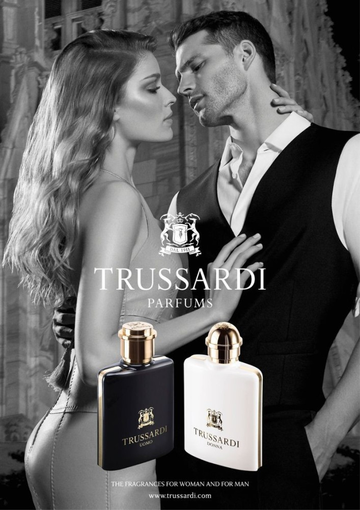 ALISA AHMANN for Trussardi fragance SS19
