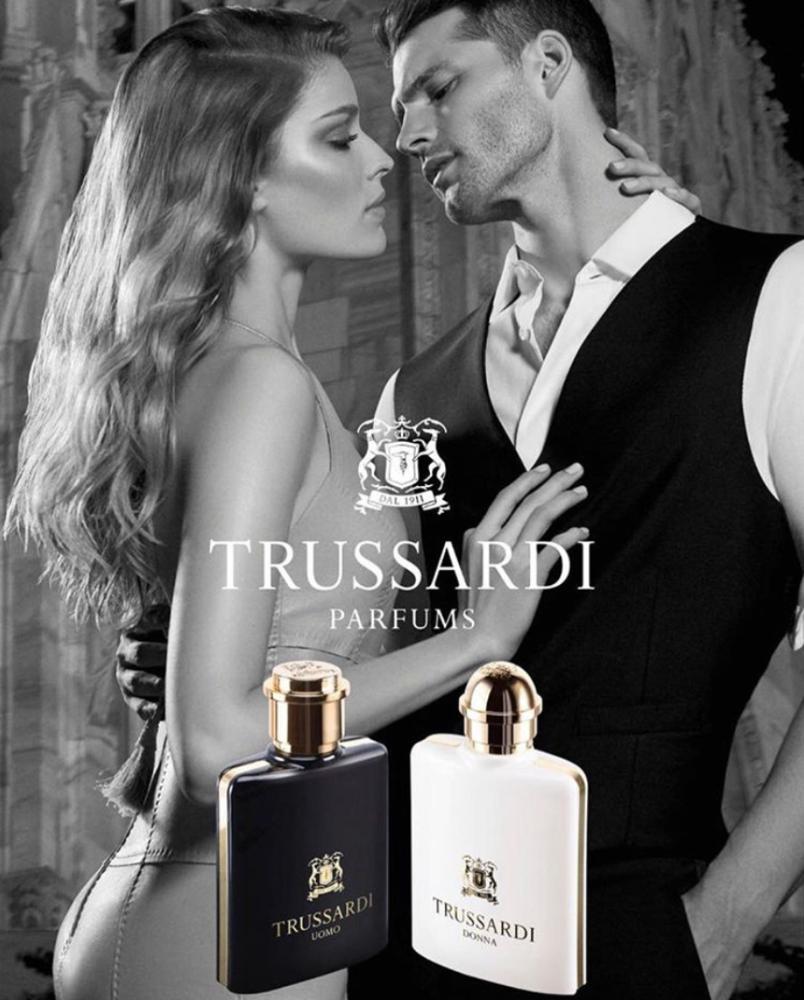 ALISA AHMANN for Trussardi fragance SS19