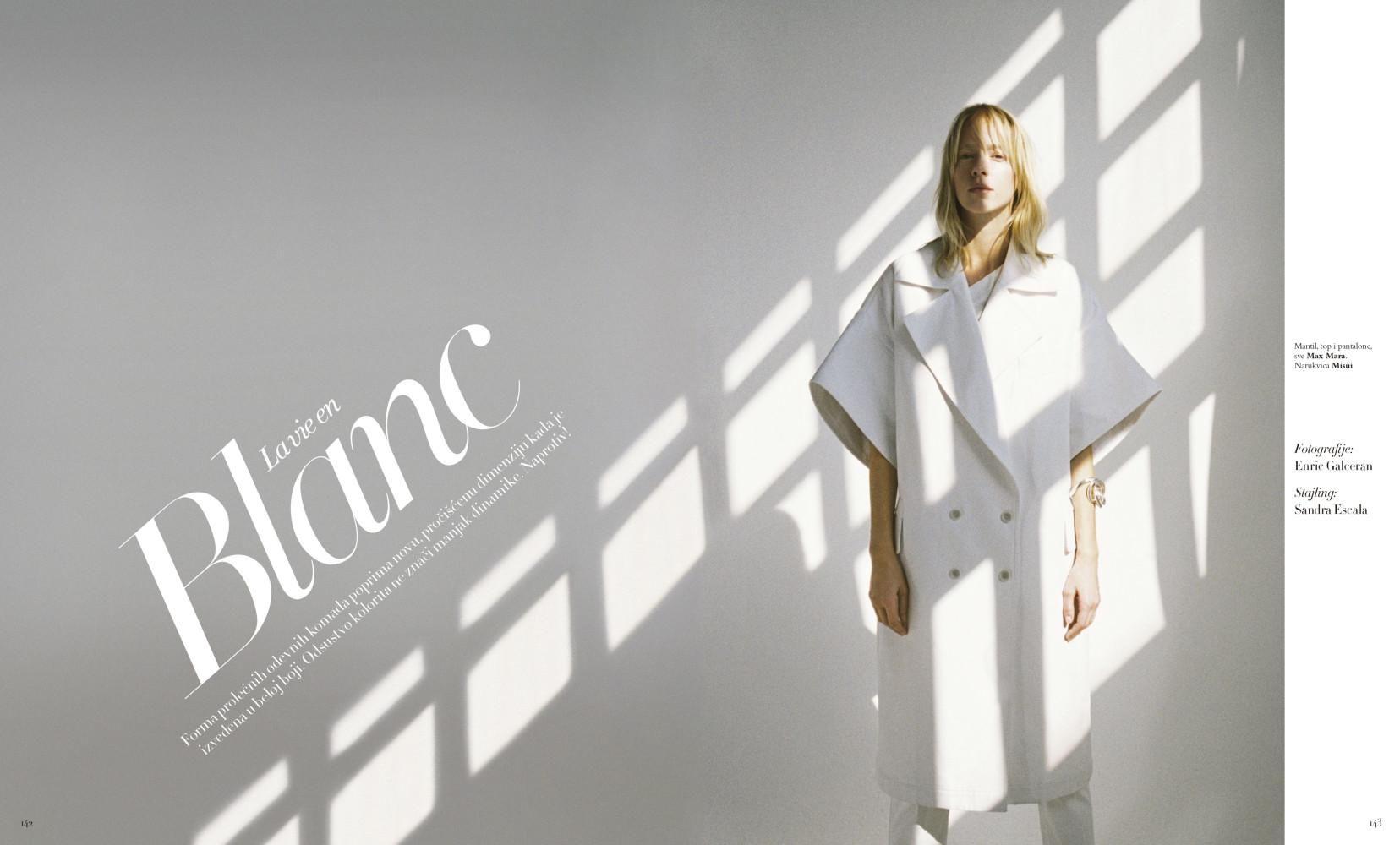 FRANZI FRINGS for Harper´s Bazaar Serbia by Enric Galceran
