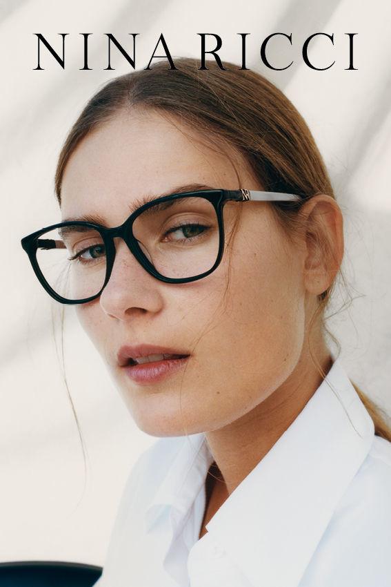 VERA VAN ERP for Nina Ricci eyewear campaign
